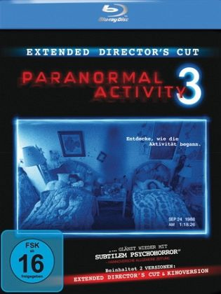 Paranormal Activity 3 (Extended Director's Cut, + Kinoversion, inkl. Digital Copy)
