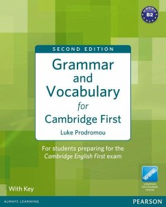 Grammar and Vocabulary for Cambridge First (with Key) - Prodromou, Luke
