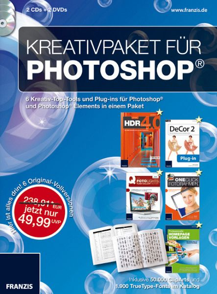 Kreativpaket für Photoshop & Photoshop Elements