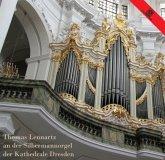 Silbermannorgel Der Kathedrale Dresden