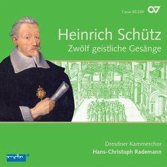 Zwölf Geistliche Gesänge Swv 420-431 (Schütz-Ed.4 - Rademann/Dresdner Kammerchor