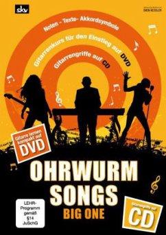 Ohrwurm Songs - Big One, für Gitarre, m. Audio-CD u. DVD