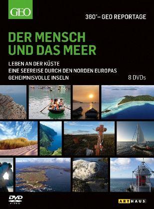 360° - GEO Reportage: Der Mensch und das Meer (8 Discs)