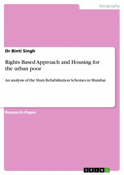 Rights Based Approach and Housing for the urban poor