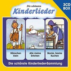 Die Schönsten Kinderlieder - 3-Cd Liederbox Vol. 1 - Diverse