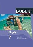 Duden Physik 7. Schuljahr. Arbeitsheft Gymnasium Thüringen