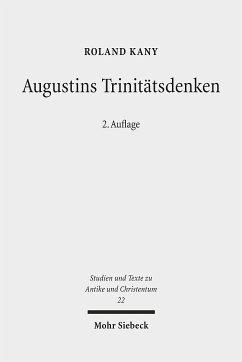 Augustins Trinitätsdenken - Kany, Roland