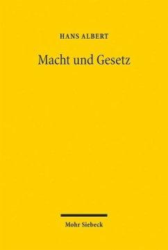 Macht und Gesetz - Albert, Hans