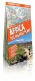Trekking Map Africa, The Highest Peaks / Comfort! map, Trekking map