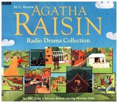The Agatha Raisin Radio Drama Collection, 10 Au...