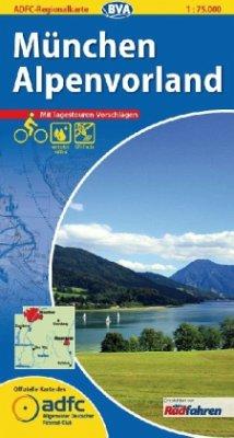 ADFC Regionalkarte München, Alpenvorland