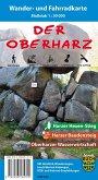 Der Oberharz, Wander- und Fahrradkarte