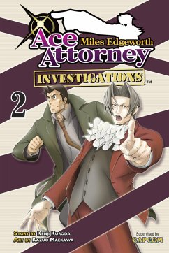 Miles Edgeworth: Ace Attorney Investigations, Volume 2 - Kuroda, Kenji
