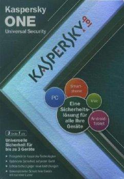 Kaspersky One 2012 - 3 Lizenzen (PC)