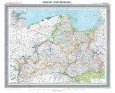 Historische Karte: Provinz Westpreussen, um 1905 (plano)