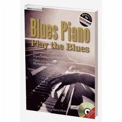 Blues Piano. Play the Blues,m. Audio-CD