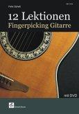 12 Lektionen Fingerpicking Gitarre, m. DVD