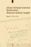 Briefwechsel 6. Juli 1739- Juli 1740