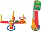 Simba Toys 107408799 - Kreuz Ringwurfspiel