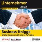 CD WISSEN - Unternehmeredition - Business-Knigge (MP3-Download)