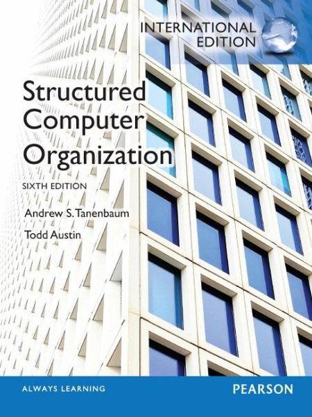 structured computer organization 5th edition pdf