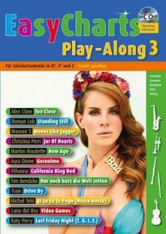 Easy Charts Play-Along 3. Spielbuch mit CD