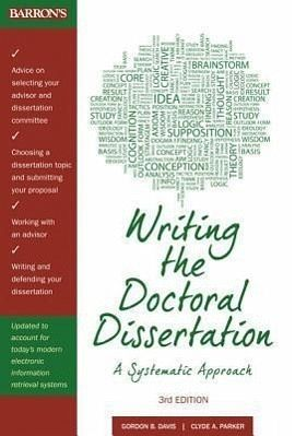 writing doctoral dissertation davis Resources for dissertators this page lists some useful books and websites for graduate students working on dissertations unless otherwise noted, books are available for consultation in the writing center.