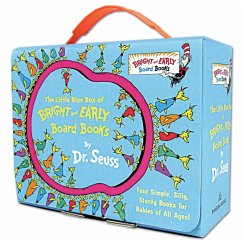 Little Blue Box of Bright and Early Board Books - Seuss, Dr.