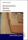 Bootskonstruktion, Bootsbau, Bootstypen