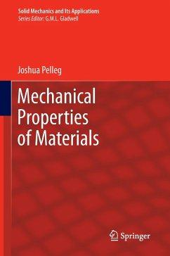 Mechanical Properties of Materials - Pelleg, Joshua