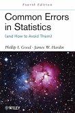 Common Errors in Statistics 4e