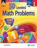 50 Leveled Math Problems: Level 1 (Level 1)