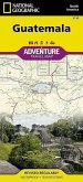 National Geographic Adventure Travel Map TK Guatemala 500T.