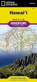 National Geographic Adventure Travel Map Hawai'i