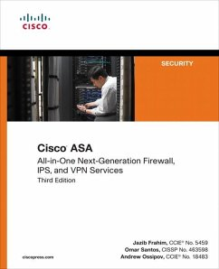 Cisco Asa: All-In-One Next-Generation Firewall, Ips, and VPN Services - Frahim, Jazib; Santos, Omar; Ossipov, Andrew