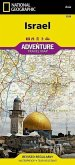 National Geographic Adventure Travel Map Israel