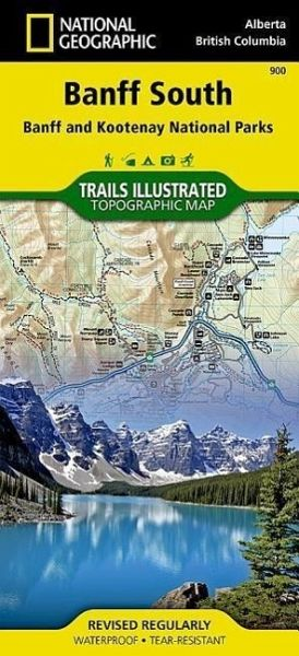 National Geographic Trails Illustrated Topographic Map