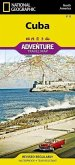 National Geographic Adventure Travel Map Cuba
