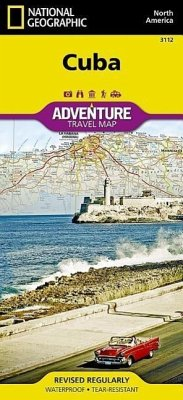 National Geographic Adventure Travel Map Cuba - National Geographic Maps
