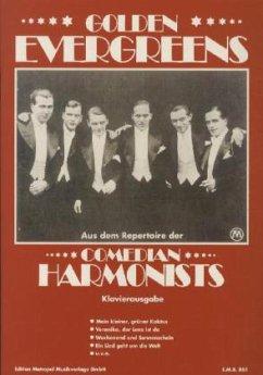 Golden Evergreens, Comedian Harmonists, Klavierausgabe - Comedian Harmonists