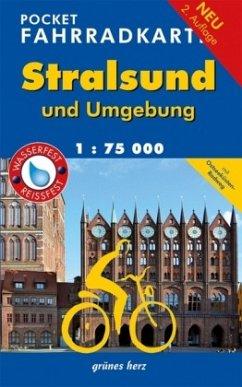 Pocket Fahrradkarte Stralsund und Umgebung