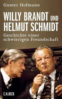 Willy Brandt und Helmut Schmidt - Hofmann, Gunter