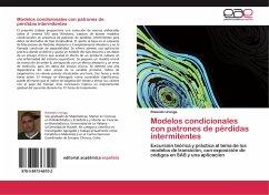 Modelos condicionales con patrones de pérdidas intermitentes