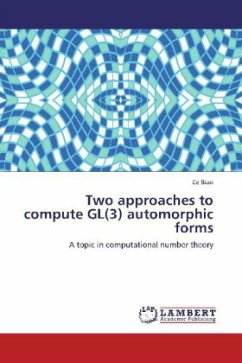 Two approaches to compute GL(3) automorphic forms