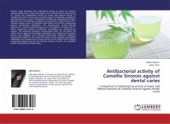 Antibacterial activity of Camellia Sinsnsis against dental caries