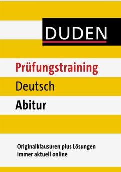 Duden Prüfungstraining Deutsch Abitur (Mängelexemplar)