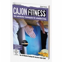 Cajon Fitness, m. DVD + Audio-CD