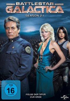 Battlestar Galactica - Season 2.1 DVD-Box - Edward James Olmos,Mary Mcdonnell,Jamie Bamber