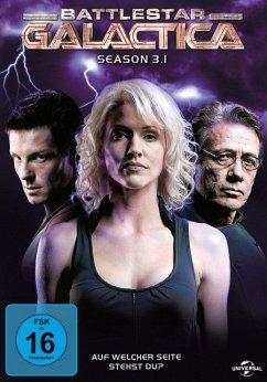 Battlestar Galactica - Season 3.1 DVD-Box - Edward James Olmos,Mary Mcdonnell,Jamie Bamber