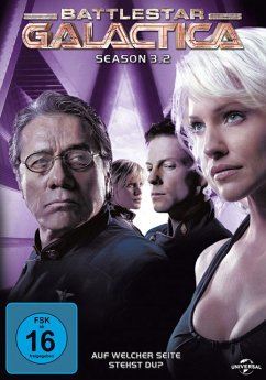 Battlestar Galactica - Season 3.2 DVD-Box - Edward James Olmos,Mary Mcdonnell,Jamie Bamber
